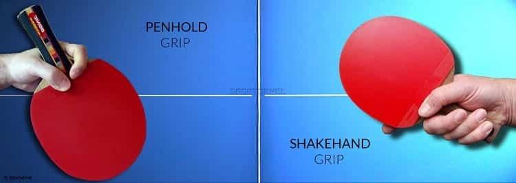 Shakehand vs Penhold Grip