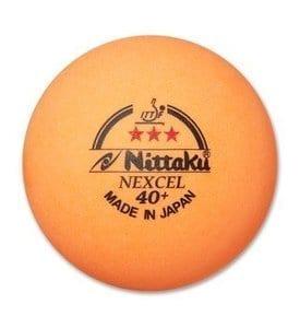 NITTAKU 3-STAR NEXCEL 40+ ORANGE BALLS