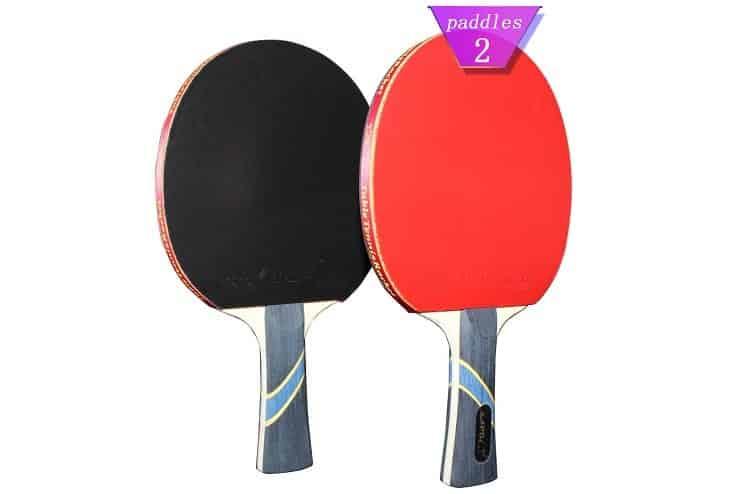 MAPOL 4 Star Professional Ping Pong Paddles