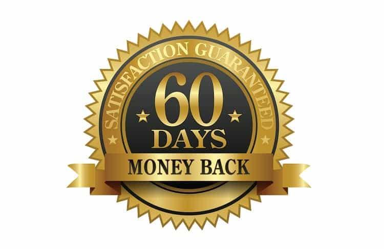 60 Days Money Back Guarantee Logo