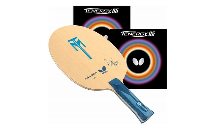 Butterfly Timo Boll ALC AN Blade with Tenergy 05 2.1 Red/Black Rubbers Pro-Line Table Tennis Racket