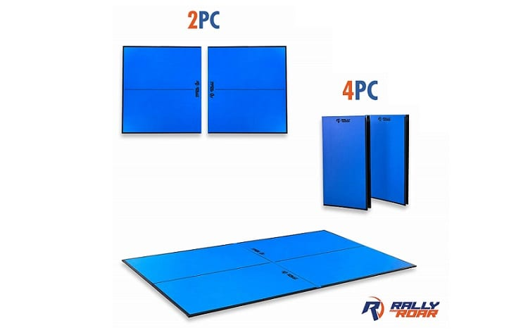 Indoor Table Tennis Conversion Top with Net Set by Rally & Roar Review