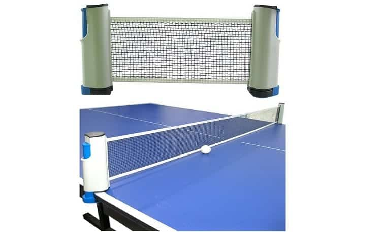 DerBlue Portable Retractable and Adjustable Table Tennis Net Review