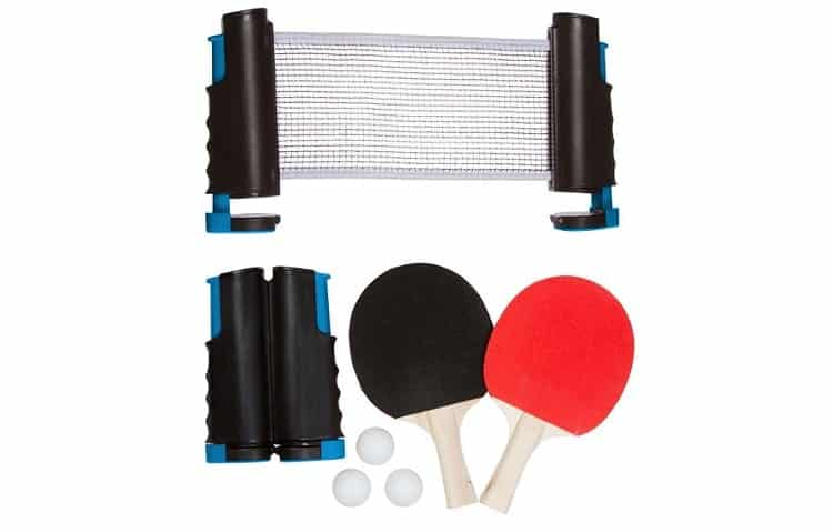 Trademark Innovations Anywhere Table Tennis Set Review