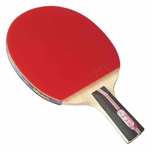 Butterfly 302 Chinese Penhold Table Tennis Racket Set