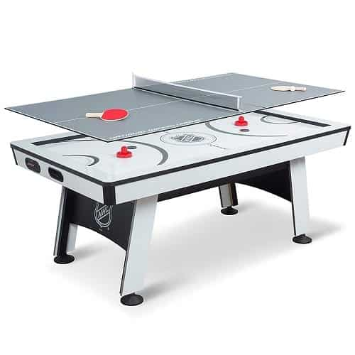 NHL Power Play Air Powered Hockey Table with Table Tennis Top