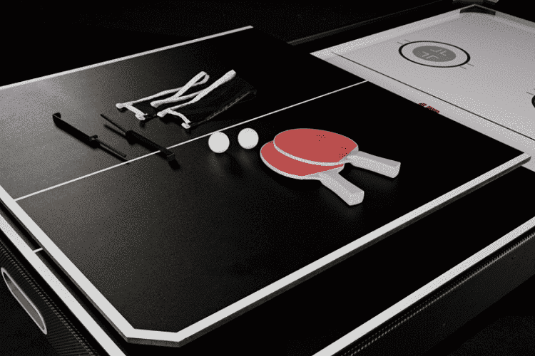 Air Hockey and Ping Pong Combo