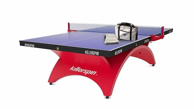 Killerspin Revolution SVR Red1 Table Tennis Table Review
